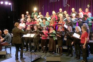 MaJazz koret synger julen ind på BLIK