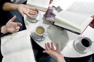 Intro-aften til læsekredse på Gilleleje bibliotek