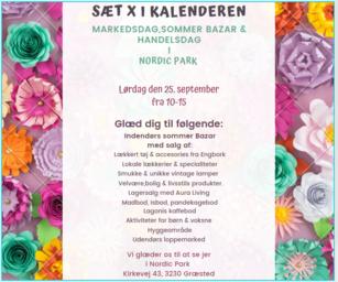 Makedsdag, Sommer Bazar & Handelsdag i Nordic Park