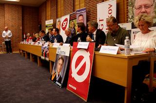Vælgermøde i Kulturhavn Gilleleje
